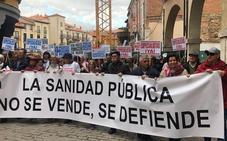 Más de 3.000 personas se manifiestan en Aranda para reivindicar una sanidad de calidad en la Ribera del Duero