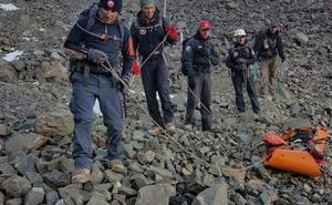 Hallan en los Andes el cuerpo momificado de un español desaparecido en 1990