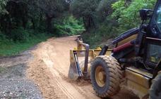 Comienzan las obras de acondicionamiento del Camino del Monasterio de Herrera