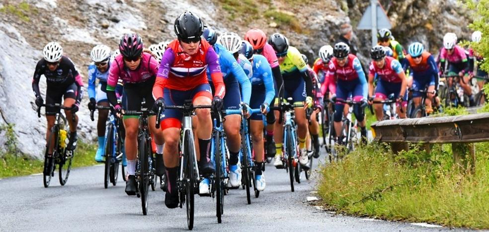 La noruega Stine Borgli conquista el maillot morado de la Vuelta a Burgos