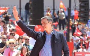 Sánchez pide la misma participación que el 28-A para «construir un sueño»