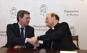 La Archidiócesis y la Diputación de Burgos destinan 1,4 millones a la conservación de iglesias de la provincia
