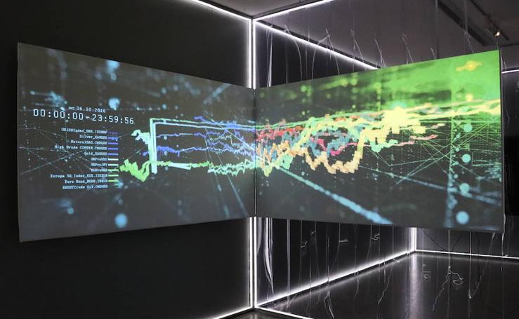 Imágenes de la exposición 'Más allá de 2001:Odiseas de la inteligencia'