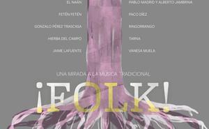 La Fundación Caja de Burgos proyecta este martes el documental '¡Folk! Una mirada a la música tradicional'
