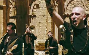 El monasterio de Santa María de Rioseco, escenario del nuevo videoclip de Cronómetrobudú