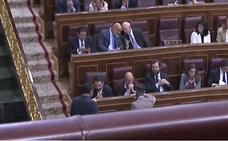 VOX ocupa los asientos habituales del PSOE en el Congreso