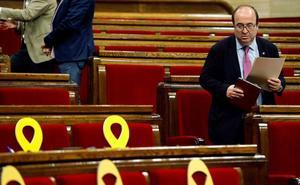 El Constitucional admite a trámite el recurso de Iceta tras el veto independentista