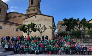 Una marcha solidaria de la Universidad de la Experiencia recauda más de 1.000 euros para la lucha contra la ELA