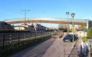 Cierran al tráfico el miércoles y el jueves un carril en cada sentido de la BU-11 a la altura de la pasarela