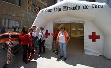 La Cruz Roja de Miranda repartirá pulseras GPS para niños durante las fiestas de San Juan del Monte