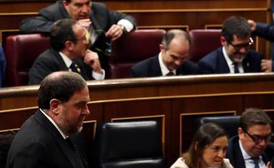 El Parlament ya suspendió a los diputados procesados