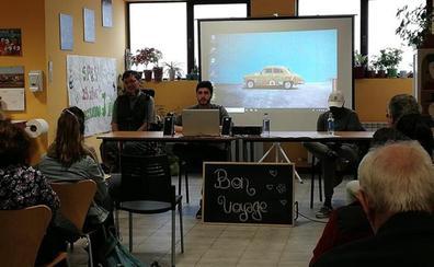 Dabiz Riaño, diagnosticado de ELA, presenta su proyecto '7 lagos 7 vidas: empieza la aventura' en la sede de ASPAYM en Burgos