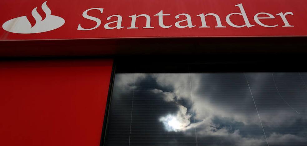 Banco Santander cerrará 10 oficinas en Burgos de su red conjunta con el Popular