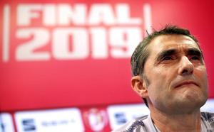 Valverde: «Cada día te la estás jugando, por una razón o por otra»
