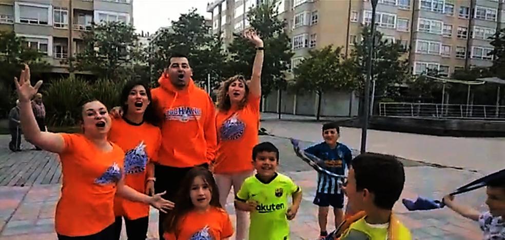La afición del San Pablo manda su apoyo al equipo para el último partido de una gran temporada