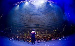 El San Pablo Burgos vuelve a pintar de azul el Coliseum