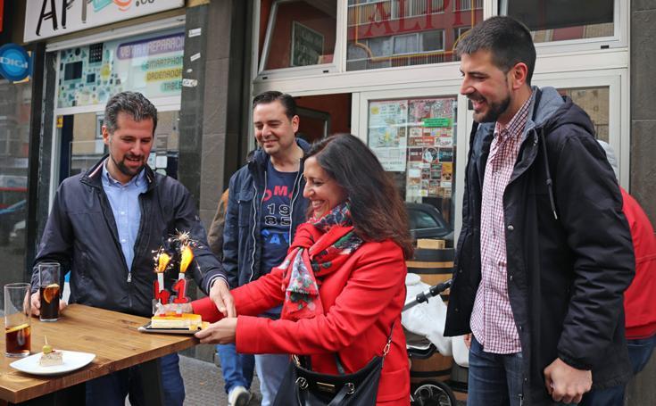 Los candidatos burgaleses pasan con familia y amigos la jornada de reflexión