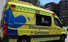 Un herido en la salida de vía de su turismo en Aranda de Duero