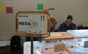 La participación crece un 0,69% en Burgos, con más de 1,5 puntos de subida en Miranda y Aranda