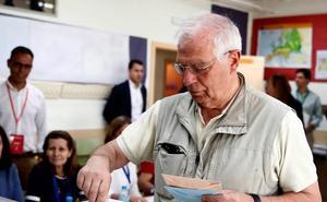 El PSOE gana las europeas y el PP evita el 'sorpasso' de Ciudadanos