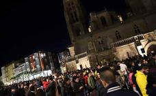 Las calles de Burgos 'despiertan' en La Noche Blanca