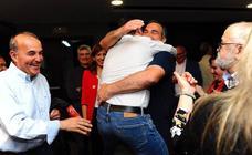 Así celebró el PSOE de Burgos su victoria el las elecciones municipales