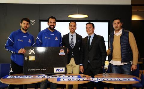 El San Pablo Burgos y Caixa Bank se unen para presentar una tarjeta de crédito