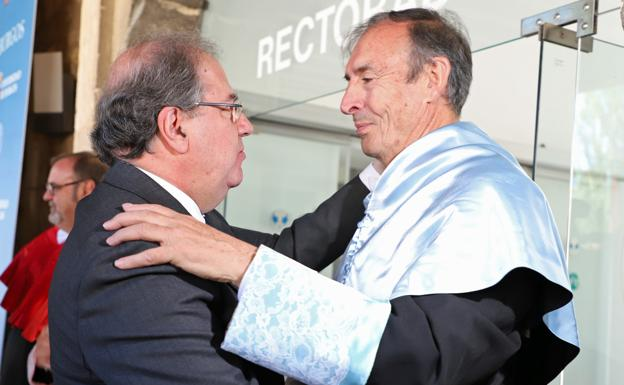 Juan José Labora ha sido investido hoy doctor Honoris Causa/PCR