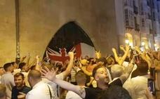 Los hooligans ingleses toman Burgos