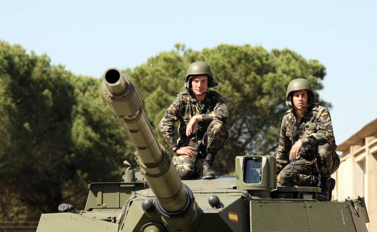 Castilla y León cuenta con 7.300 efectivos militares incorporados en la treintena de bases y acuartelamientos de la región