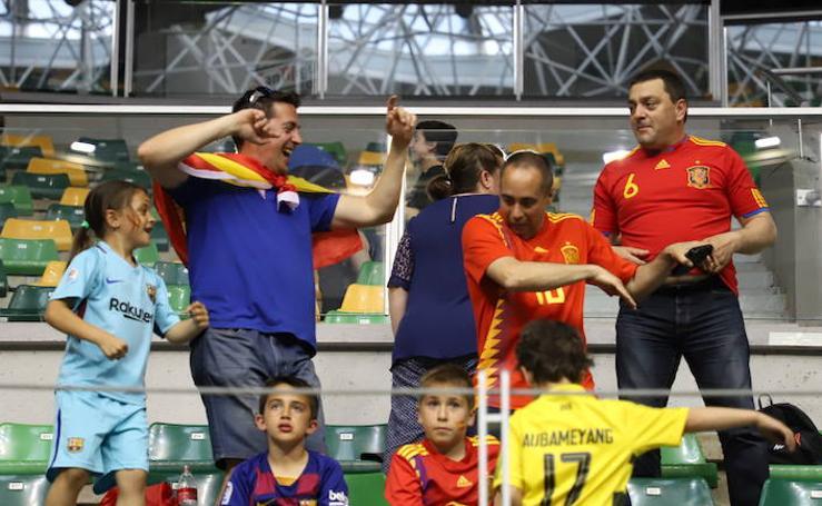 ¿Has estado viendo el partido de baloncesto entre España y Letonia? ¡Búscate!