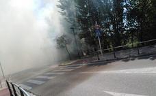 La quema intencionada de pelusas trae de cabeza a los Bomberos de Burgos