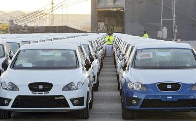 Caen un 21,27% las matriculaciones de automóviles en Burgos en el mes de mayo