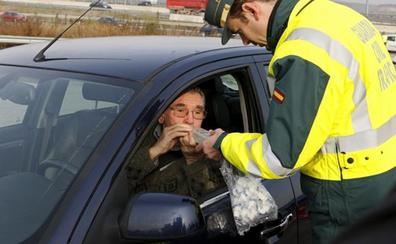 Detenidos cuatro conductores por alcoholismo en las carreteras de la provincia de Burgos