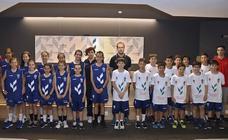 Un programa de detección de talento deportivo de baloncesto reúne a 120 niños en Burgos