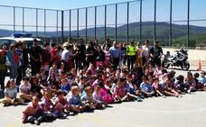 La Guardia Civil visita el CEIP Vera Cruz de Quintanar de la Sierra