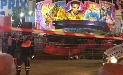 Heridas 28 personas tras desprenderse una atracción en una feria de Sevilla