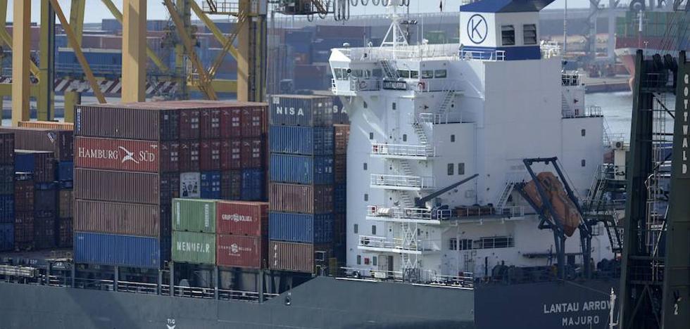 Las exportaciones españolas crecerán solo un 2,3% en 2019
