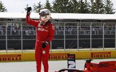 Vettel se quita una losa de encima