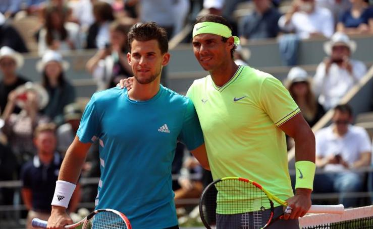 Las mejores imágenes de la final de Roland Garros entre Thiem y Nadal