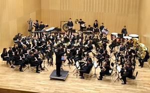 La Banda del Conservatorio 'Rafael Frühbeck' actúa este martes en Cultural Caja de Burgos