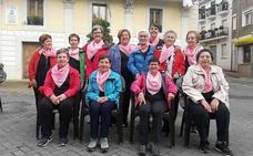 Las vecinas de Pradoluengo bailan a favor de la lucha contra el cáncer