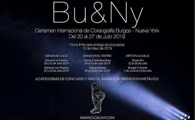 217 propuestas optan a participar en el 18º Certamen Internacional de Coreografía Burgos-Nueva York