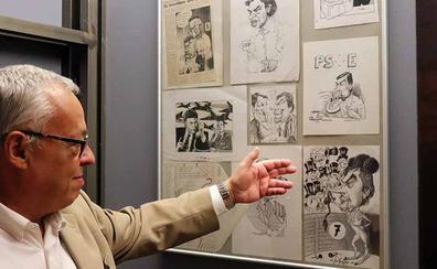 El Instituto Castellano y Leonés de la Lengua evoca el humor gráfico de la Transición en Diario 16