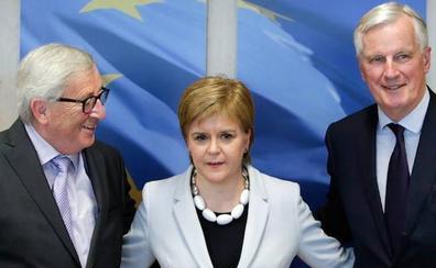 Escocia busca en Bruselas apoyo para su independencia