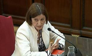 Estrasburgo rechaza la demanda de Forcadell por su prisión