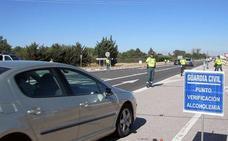 9 positivos por drogas durante el último fin de semana en las carreteras burgalesas