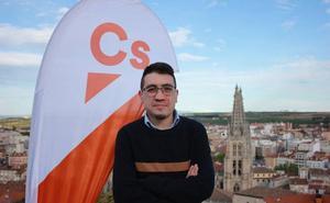 Javier López Gallego, número tres de Ciudadanos en Burgos, renuncia por problemas de salud