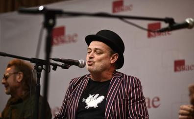 Pablo Carbonell y Alex O'Dogherty en el escenario de humor de Sonorama Ribera