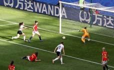 Un malentendido derrota a España
